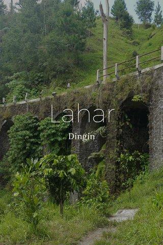 Lahar Dingin