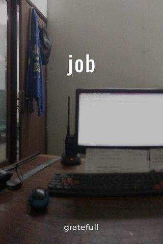 job gratefull