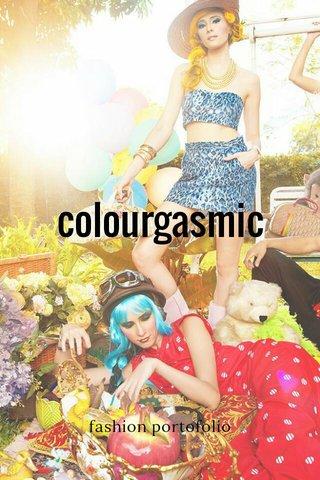 colourgasmic fashion portofolio