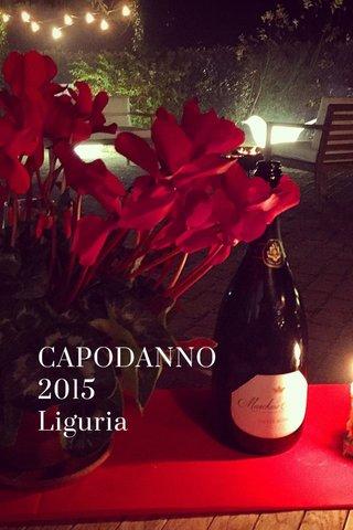 CAPODANNO 2015 Liguria