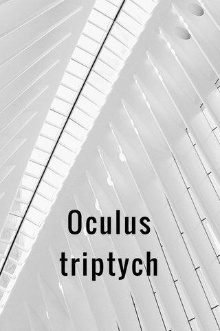 Oculus triptych