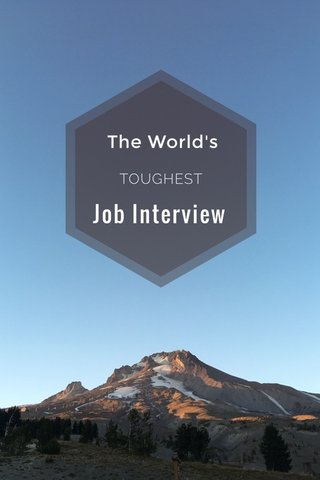 Job Interview The World's