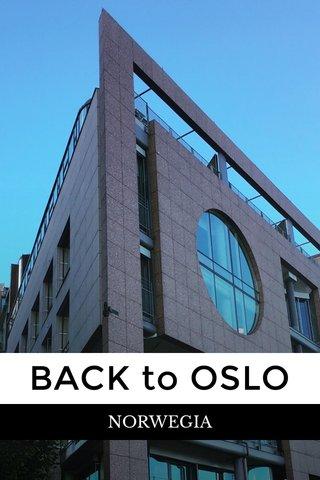 BACK to OSLO NORWEGIA