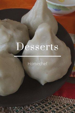 Desserts Homechef