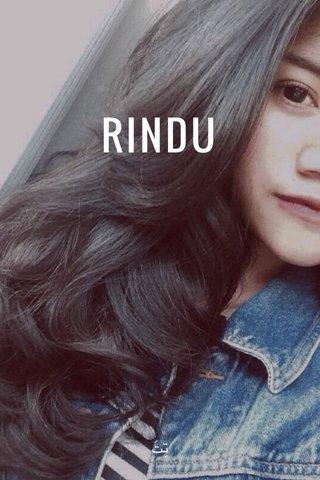RINDU تِتَ