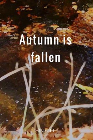 Autumn is fallen Part III