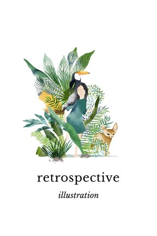 retrospective illustration