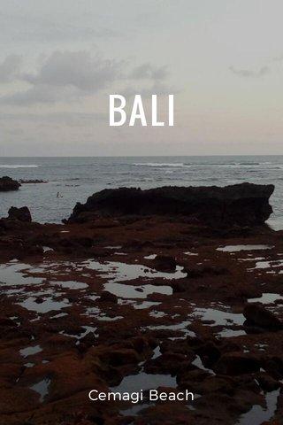 BALI Cemagi Beach