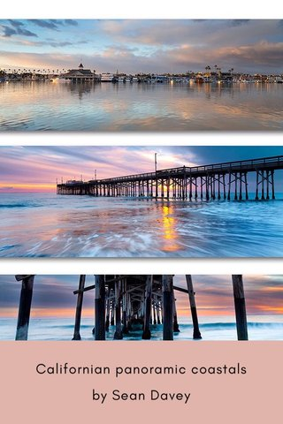 Californian panoramic coastals by Sean Davey