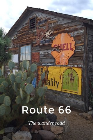Route 66 The wander road