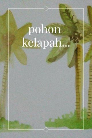 pohon kelapah...