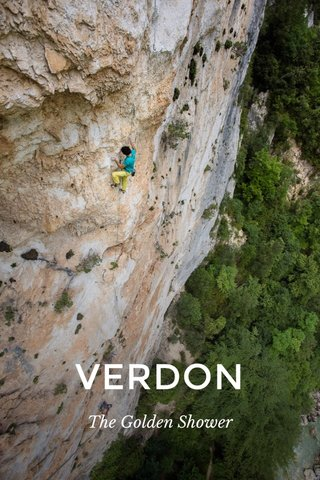 VERDON The Golden Shower