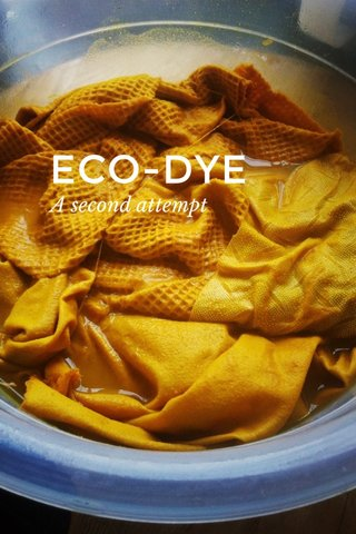ECO-DYE A second attempt