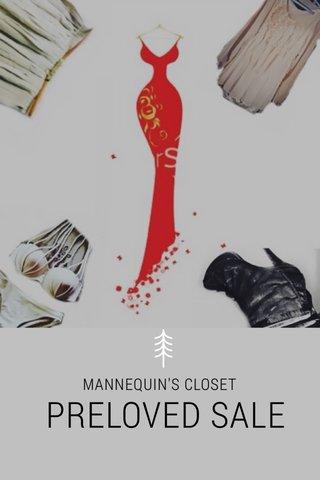 PRELOVED SALE MANNEQUIN'S CLOSET
