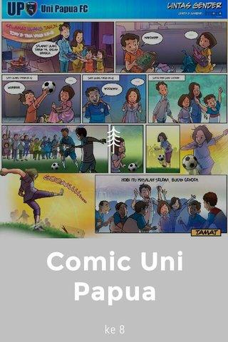 Comic Uni Papua ke 8