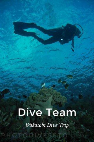 Dive Team Wakatobi Dive Trip