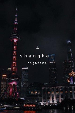 shanghai nightime