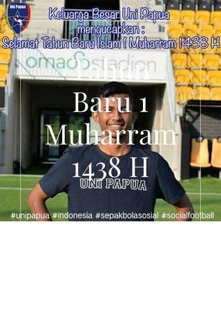 Tahun Baru 1 Muharram 1438 H