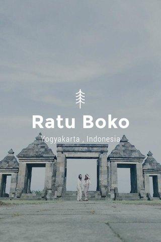 Ratu Boko Yogyakarta , Indonesia