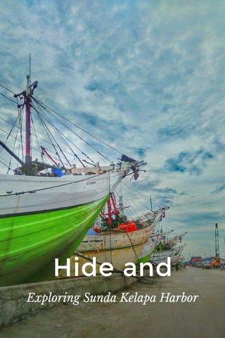 Hide and Seek Exploring Sunda Kelapa Harbor