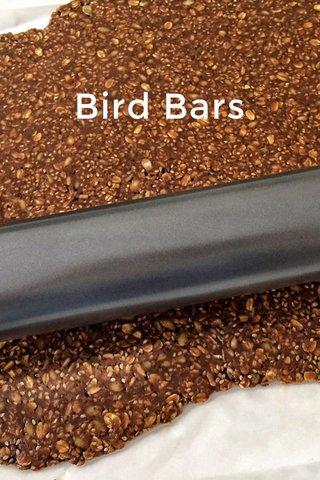 Bird Bars