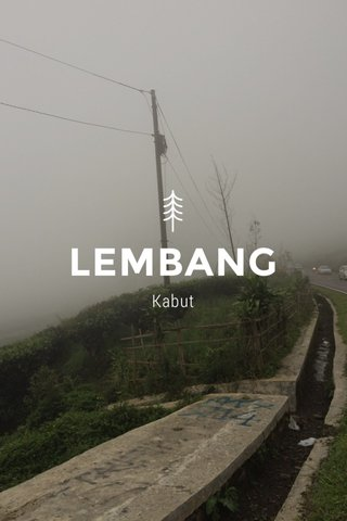 LEMBANG Kabut