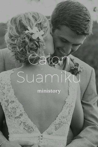 Calon Suamiku ministory