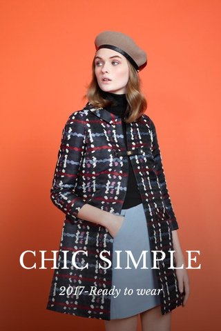 CHIC SIMPLE 2017-Ready to wear