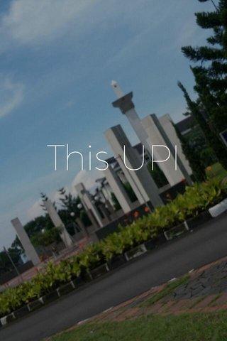 This UPI