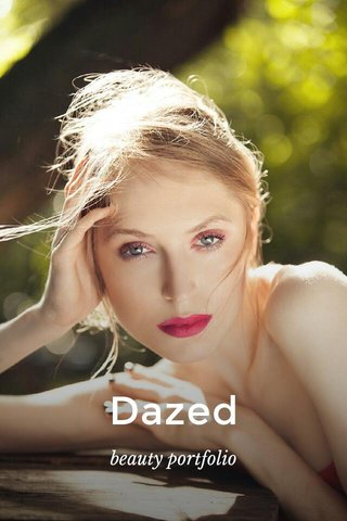 Dazed beauty portfolio