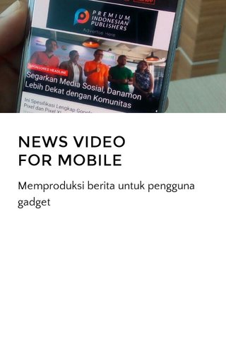 NEWS VIDEO FOR MOBILE
