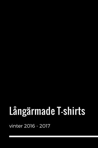 Långärmade T-shirts