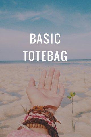 BASIC TOTEBAG