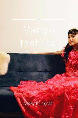 Vanyo fashion Vanny Tousignant