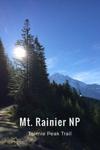 Mt. Rainier NP Tolmie Peak Trail