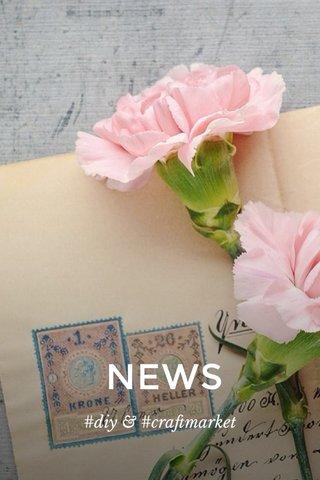 NEWS #diy & #craftmarket