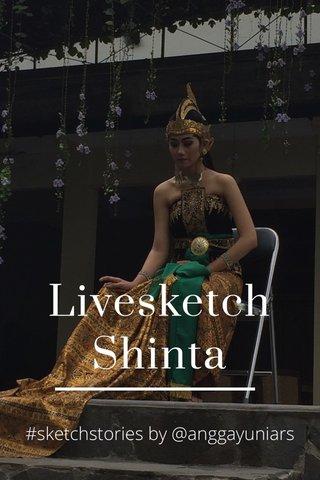 Livesketch Shinta #sketchstories by @anggayuniars