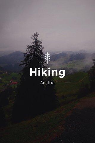 Hiking Austria