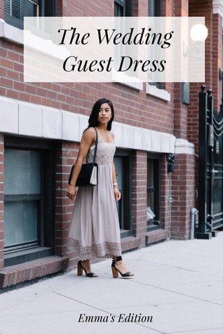 The Wedding Guest Dress Emma's Edition
