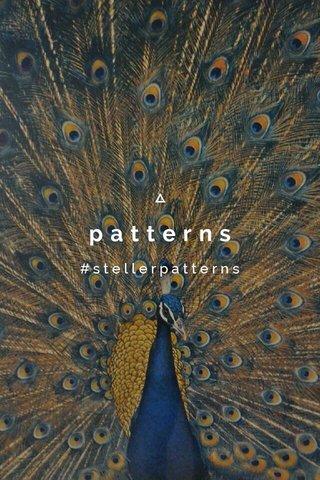 patterns #stellerpatterns