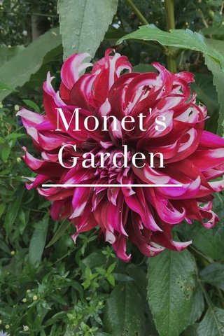 Monet's Garden .