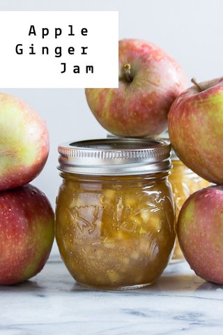Apple Ginger Jam