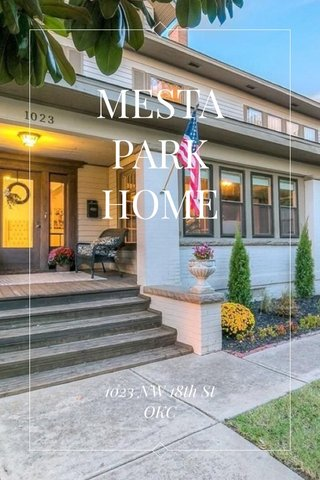 MESTA PARK HOME 1023 NW 18th St OKC