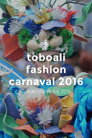 toboali fashion carnaval 2016 Toboali city on fire 2016