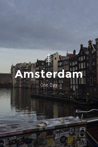 Amsterdam One Day