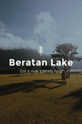 Beratan Lake Got a nice scenery here