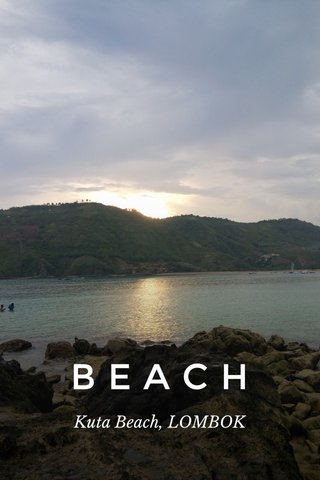 BEACH Kuta Beach, LOMBOK