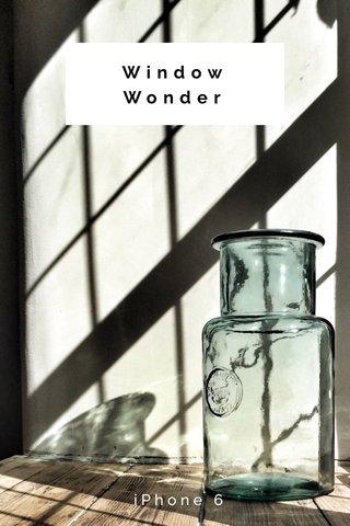 Window Wonder iPhone 6
