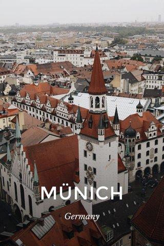MÜNICH Germany
