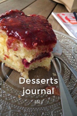 Desserts journal Vol.1